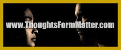 Thoughts form matter icon