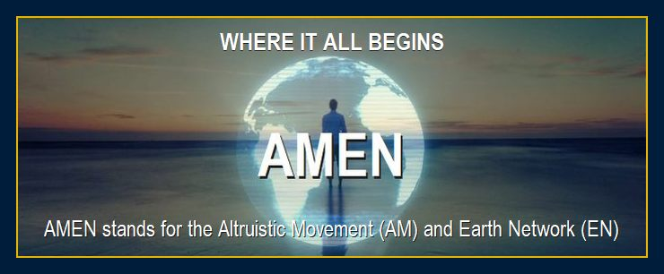 Man on beach in paradise says this is where it all begins - AMEN