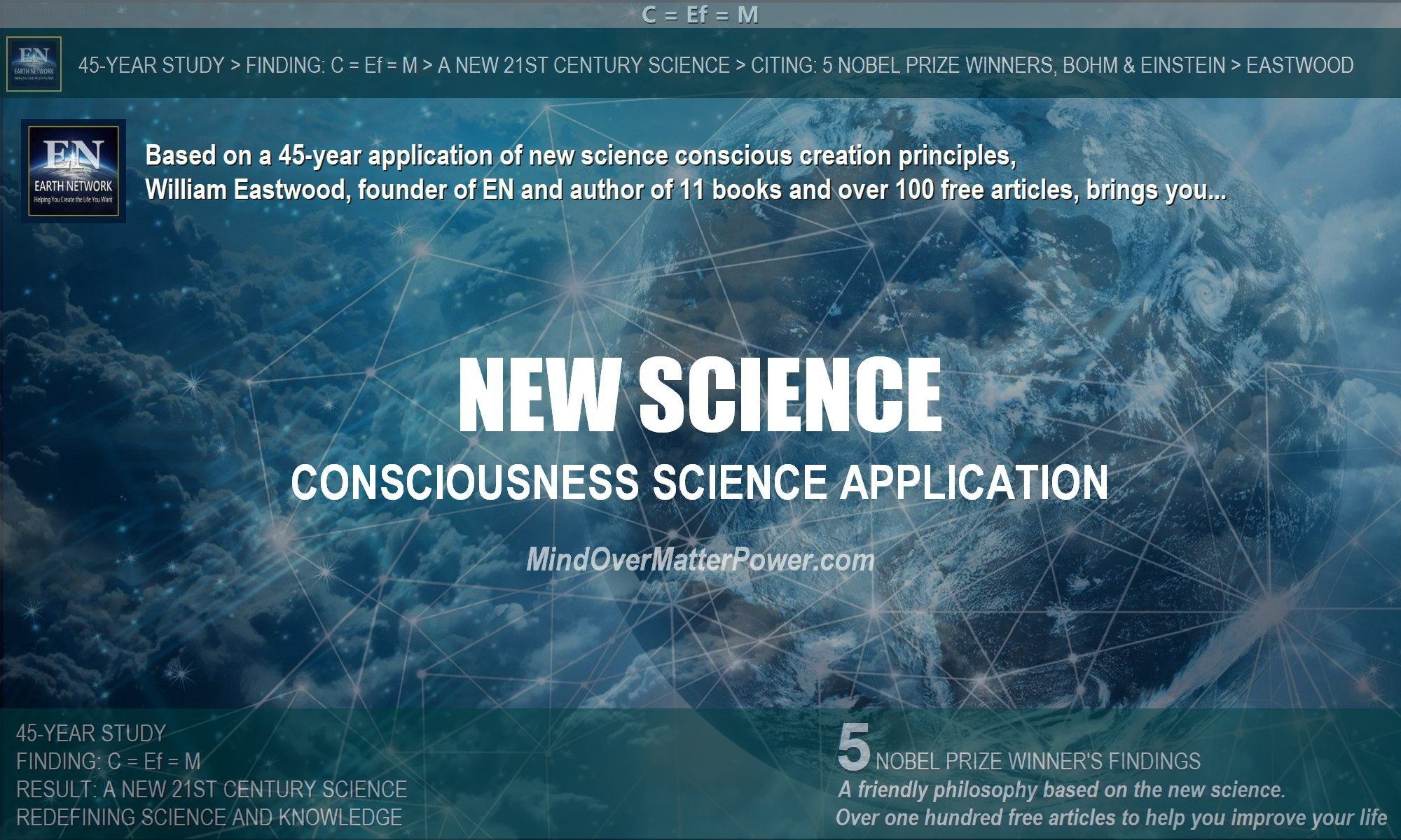 Consciousness science application-metaphysics-education-2021