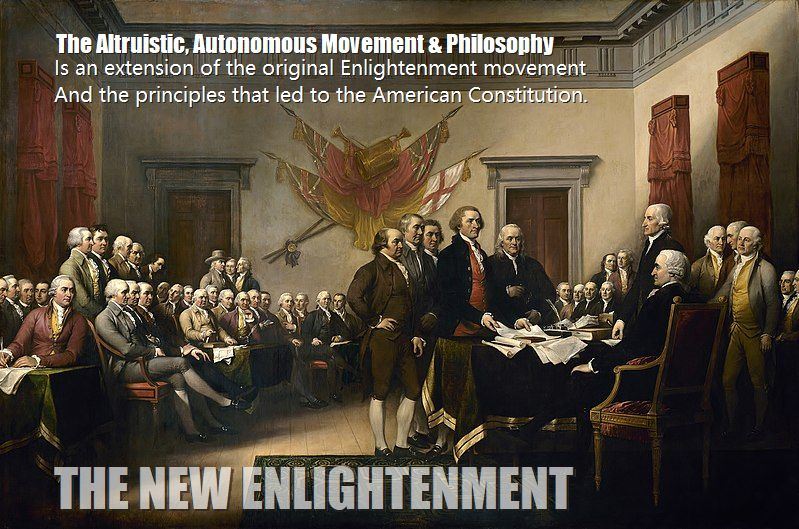 What is the new enlightenment, practical altruistic movement goodwill & charitable mission