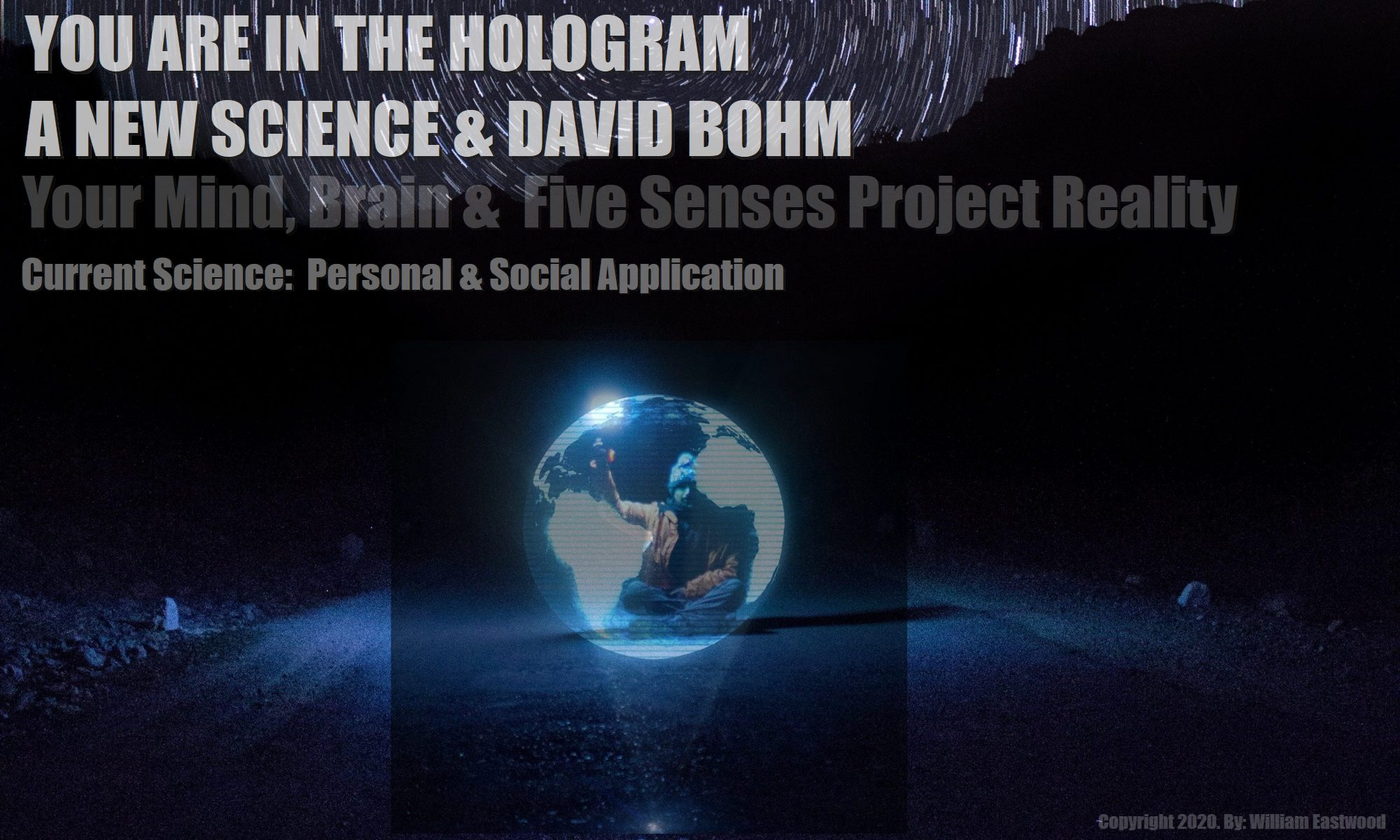 Showing-how-your-mind-brain-5-senses-project-reality-the-holomovement-holographic-universe