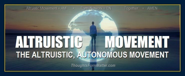 Earth Network of Altruistic Autonomous Individuals Inc founded by William Eastwood in 2000 for a new civilization and better world future